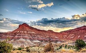 Paria, Utah - Image: Site of Paria, Utah
