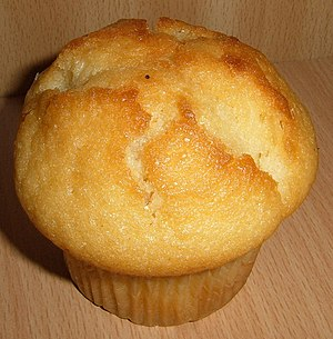 English: A muffin Suomi: Sitruunamuffinsi