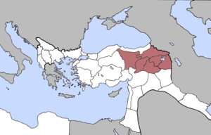 Six vilayets - The Six Armenian provinces in early 20th century.