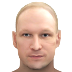 Sketch of Breivik