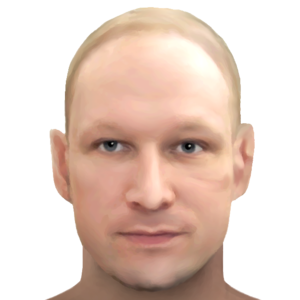 Anders Behring Breivik - Sketch of Breivik, July 2016