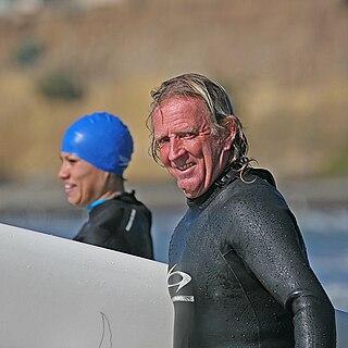 Skip Frye American surfer