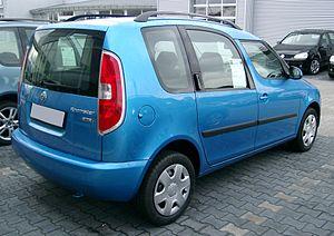 Škoda Roomster - Škoda Roomster (Europe; pre-facelift)