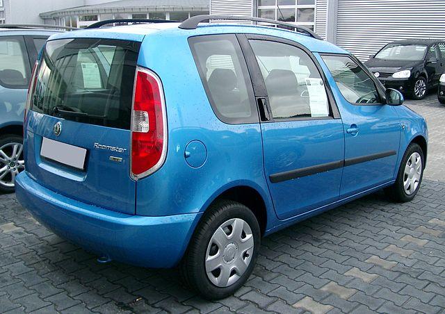 Skoda Roomster rear 20071125