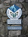 Snowdon - Pen Y Pass sign.jpg