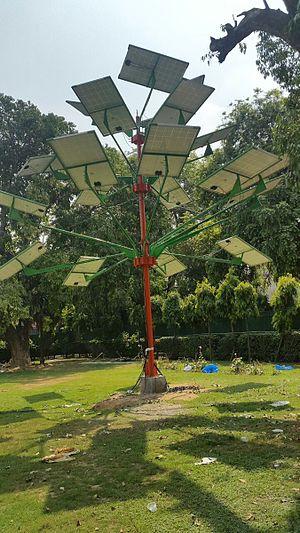 Solar tree - CSIR's Solar Power Tree