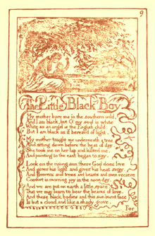 Songs of Innocence and Experience, page 9 (Ellis facsimile).png