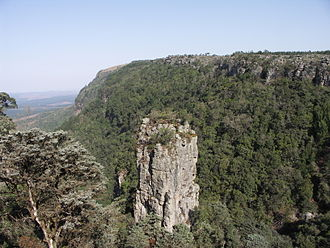 Patricia Vinnicombe - The Pinnacle outside Graskop on the Drakensberg Escarpment in Mpumalanga