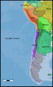 South America 1879