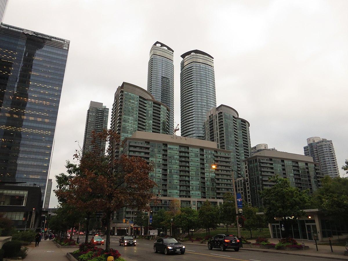 Ontario Canada Downtown South Core, Toronto - ...