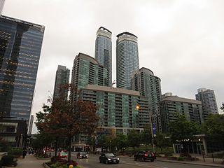 South Core, Toronto Neighbourhood in Toronto, Ontario, Canada