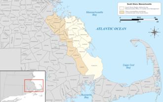 South Shore (Massachusetts) - Image: South Shore MA