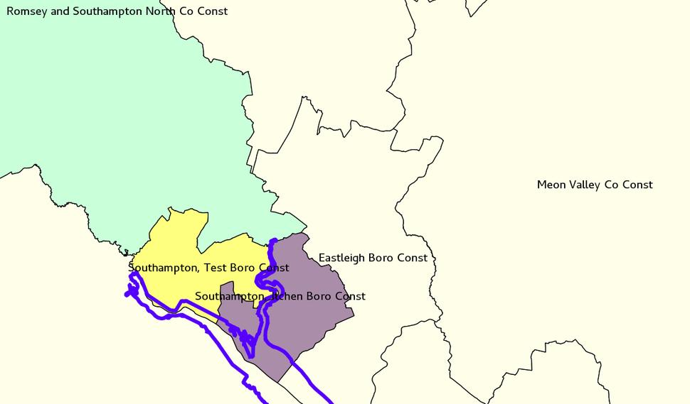 Southampton constituencies