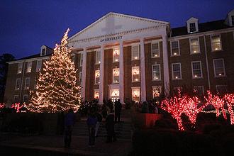 Southern Arkansas University - Celebration of Lights