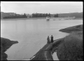 Southern reservoir at Burnside, Dunedin. ATLIB 289999.png