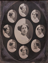 Southworth and Hawes - Portrait of a Woman in Nine Oval Views - Google Art Project.jpg