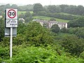 Speed restriction sign leaving Trinant - geograph.org.uk - 486236.jpg