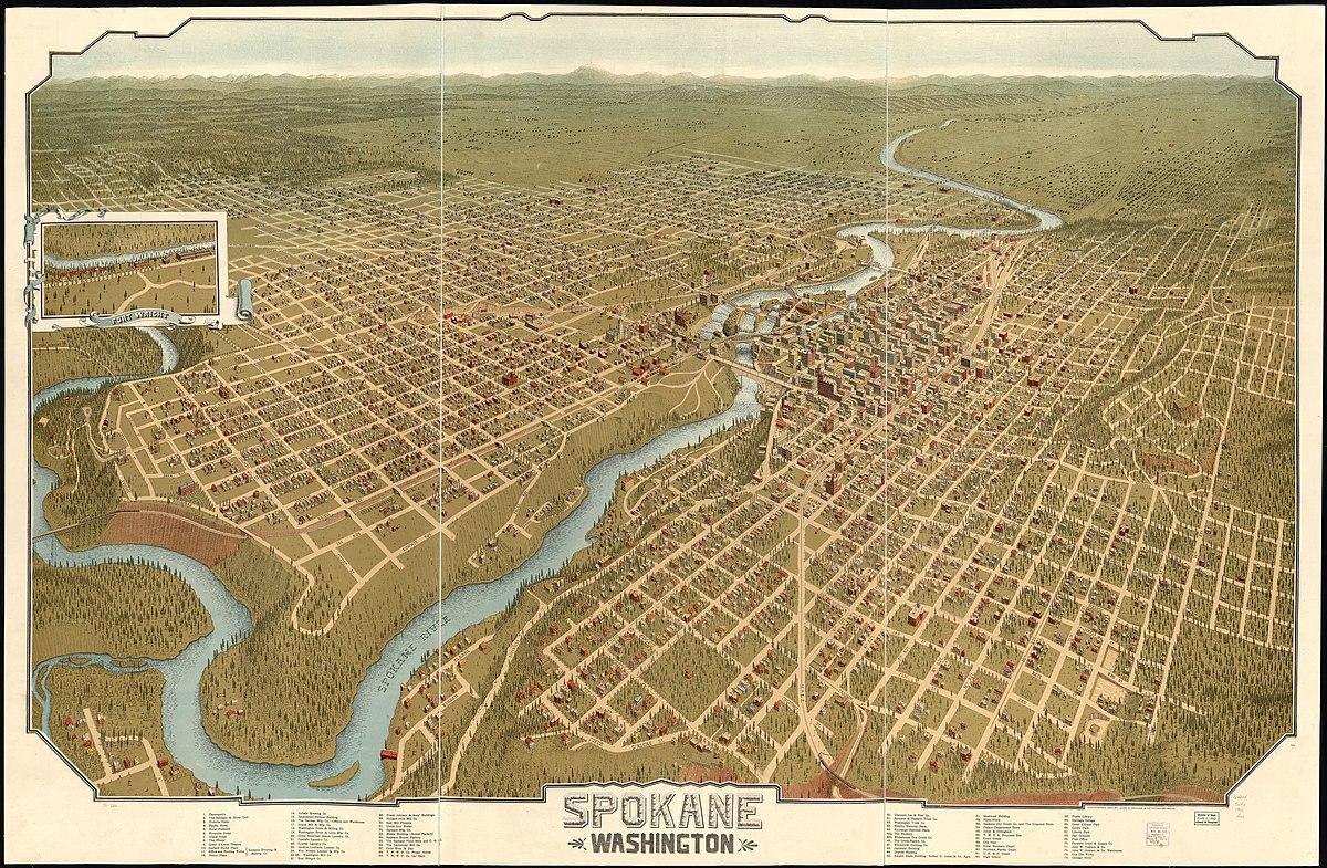 Neighborhoods In Spokane Washington Wikipedia