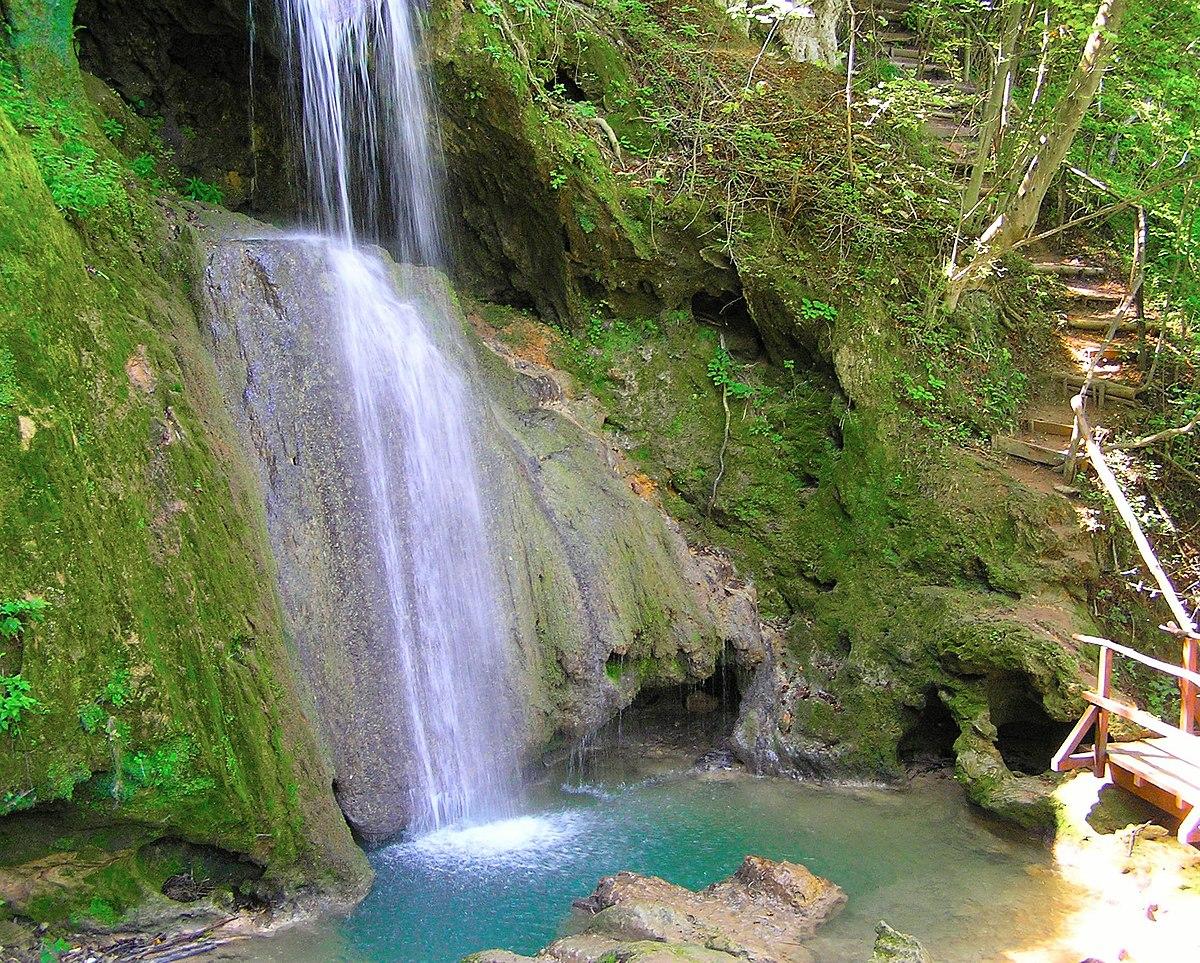 Spomenik prirode u Sokobanji; Vodopad Ripaljka 01.JPG