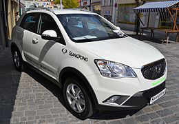 Sport Hyundai Dodge >> SsangYong Korando - Wikipedia