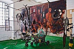 Mixed media - Collaboration with Jean Tinguely, 1989
