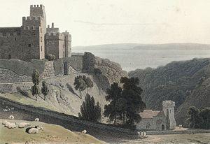 St Donat's Castle - St. Donats Castle in, 1814