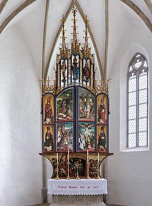 Winged altar St. Michael ob Rauchenödt