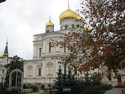 St. Petersburg. Novodevichy Convent. Resurrection Cathedral. 1848-1861 years. Architect Efimov NE.JPG