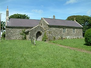 Brawdy - St David's church