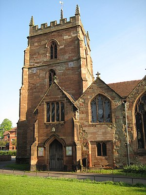 St Johns, Worcester - Image: St John in Bedwardine, Worcester geograph.org.uk 1284431