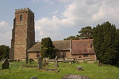 St Lawrence church and graveyard, Weston under Penyard - geograph.org.uk - 796782.jpg