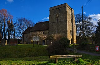 Brook, Kent village and civil parish in the Ashford borough of Kent, England