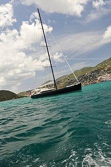 St Thomas Boat in Choppy Waters in St Thomas Harbor.jpg