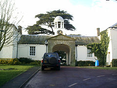 Stable block at Kirkley Hall, Northumberland, England-6Feb2004.jpg