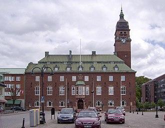 Nässjö - Image: Stadshuset i Nässjö, den 20 maj 2007