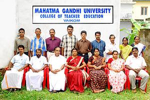 University College of Teacher Education Vaikom - Image: Staff ucte