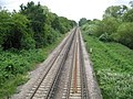 Staines, Windsor branch line railway - geograph.org.uk - 1944162.jpg