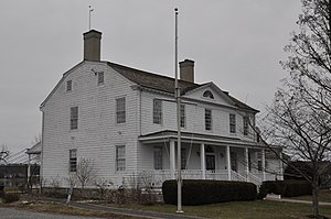 National Register of Historic Places listings in Stamford, Connecticut - Image: Stamford CT Cove Island Houses 1