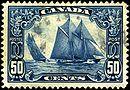 Stamp Canada 1929 50c Bluenose