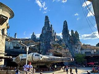 <i>Star Wars</i>: Galaxys Edge Themed area in Disneyland and Disneys Hollywood Studios