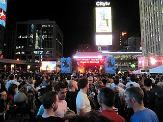 North by Northeast annual music festival held in Toronto, Ontario, Canada