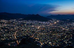 Mingora - Mingora night view