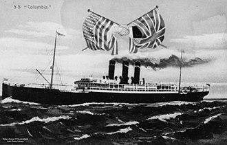 Anchor Line (steamship company) - Image: State Lib Qld 1 126607 Columbia (ship)