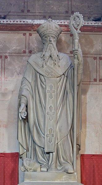 Austromoine - Image: Statue St Austremonius Issoire