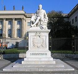 Statue of Alexander von Humboldt, Berlin