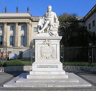 Statue of Alexander von Humboldt (Begas)