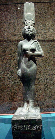 Statue CG 42205 of Ankhenesneferibre, now in the Nubian Museum, Aswan