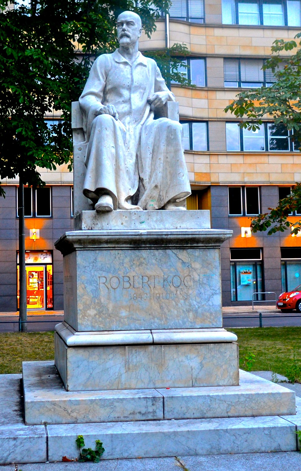 Statue of Robert Koch in Berlin