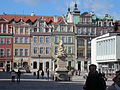Statue of St. John in Old Market Square, Poznan, Poland 03.jpg