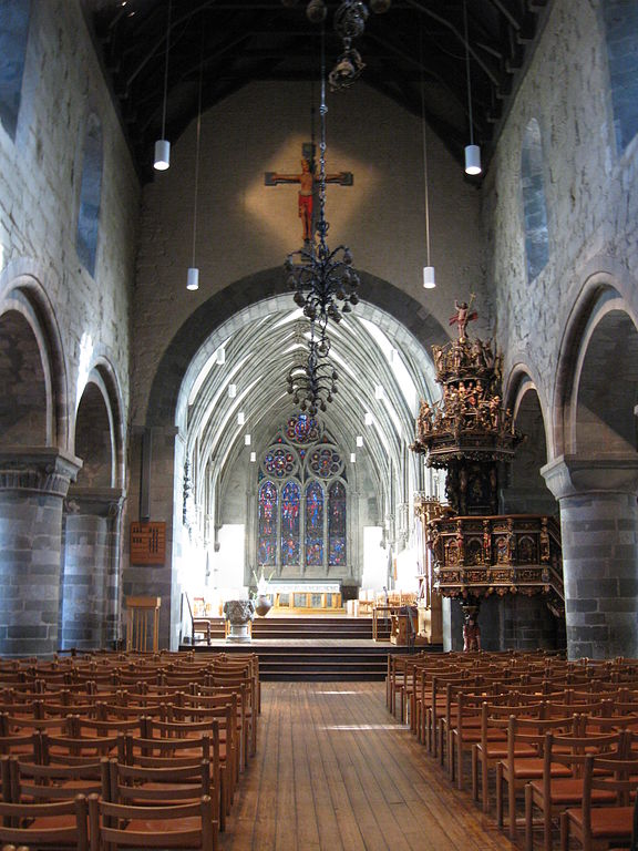 Interior of the Stavanger Cathedral.